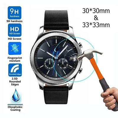 2pcs Tempered Glass Screen Protective Films for Samsung Galaxy Watch 42/46mm