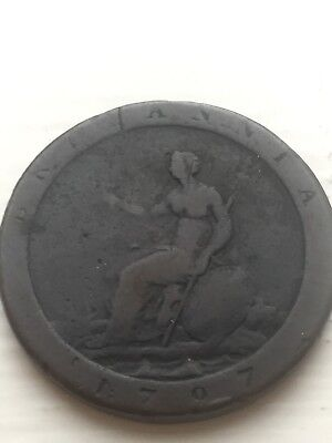 1797 Great Britain Penny  Circulated
