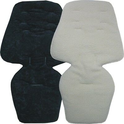 Custom made - Reversible Seat Liners to fit Silver Cross Wave & Coast pushchairs