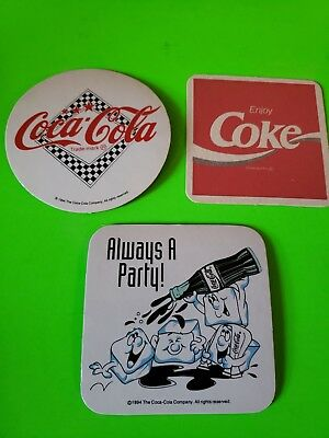 Beer Coasters 3 Coca Cola (Group 3A)