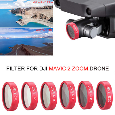 Waterproof Camera Lens Filter UV CPL ND4/8/16/32 STAR for DJI Mavic 2 ZOOM Drone