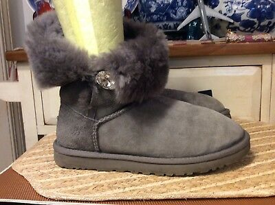 30c25780b86 UGG AUSTRALIA BAILEY Button Bling Boot - Womens - $164.95 | PicClick