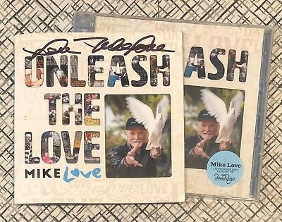 MIKE LOVE Unleash The Love CD SIGNED Autographed BEACH BOYS!!