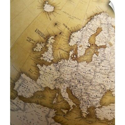 Wall Decal entitled Antique map of Europe, Old World