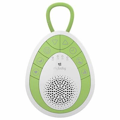 Mybaby By Homedics MyBaby SoundSpa On The Go Soother (Green & White) Free Shippi
