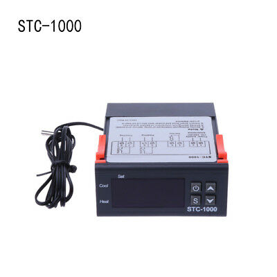 220V 12V 24V STC-1000 Temperature Controller Aquariums Thermostat Incubator Vi