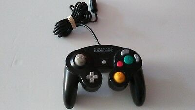 Original OEM Nintendo Black Gamecube Authentic Controller (Official Tested)
