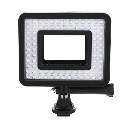 80 LED Video Photography Light Lamp Dimmable for GoPro Hero Sport Action Cameras