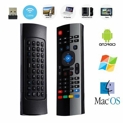 Mini 2.4G_Remote Control Wireless Keyboard Air Mouse for PC/Smart TV/Android/BOX