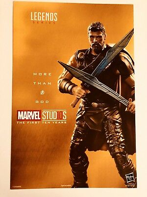 SDCC 2018 Comic Con MARVEL Studios Legends Series THOR promo card NEW