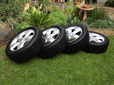 Jeep Grand Cherokee Overland wheels and tyres 20 inch