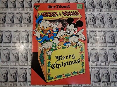 Walt Disney's Mickey and Donald (1988) Gladstone - #1, Christmas Issue, FN