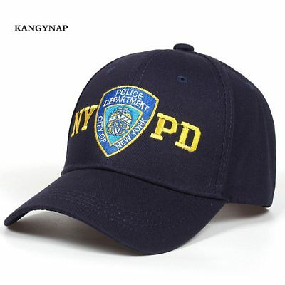 d0d0d11479c9ae Fashion Police Baseball Cap Embroidery NYPD Trucker Caps Outdoor Sports Dad  Hat