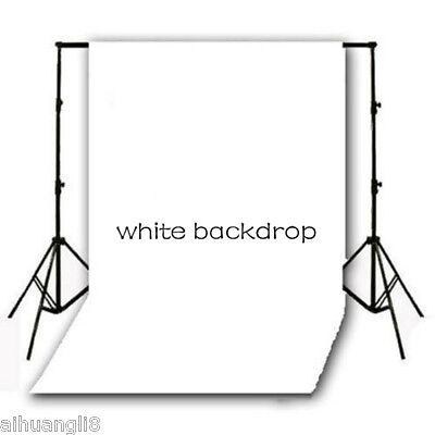 3X5FT Pure White Vinyl Photo Backdrops Background Studio Photography Props