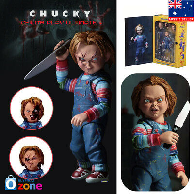 "NECA Chucky Good Guy Doll Child's Play Ultimate 4"" Action Figure Toys"