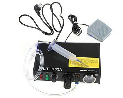 KLT-982A Solder Paste Glue Dropper Liquid Dispenser Controller Auto&Manual