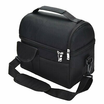 Insulated Food Lunch Box Thermal School Travel Picnic Tote Bag Pouch Container