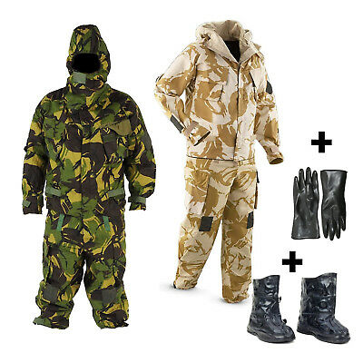 New Nbc Mkiva 4A Army Suit Uk Military Dpm Camo / Desert Jacket & Trousers