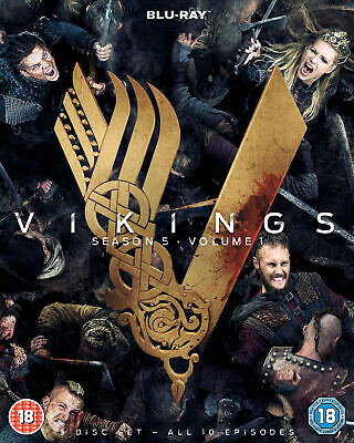 Vikings Season 5 Volume 1 [2018] (Blu-ray)