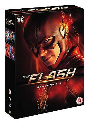 The Flash: Season 1-4 [2018] (DVD)