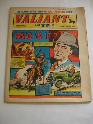 VALIANT And TV 21 comic 30th September 1972