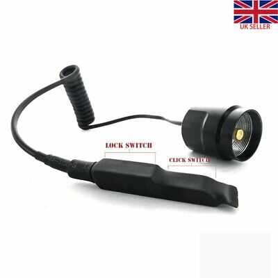 Tactical Flashlight 2 Modes Remote Control Pressure Switch For C8 C2 LED Torch