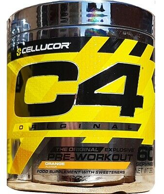 Cellucor C4 Pre Workout Explosive 5th G Original ID Series 60 serv 30 servings
