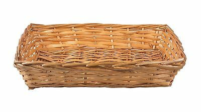 10 X Honey Wicker Trays Display Gift Hampers