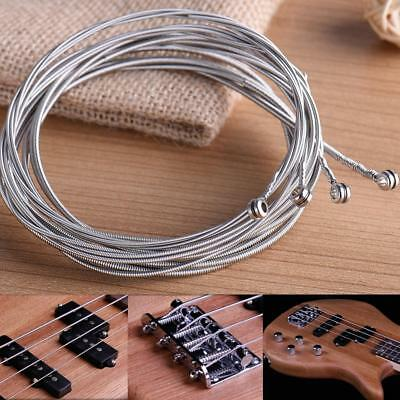 1 SET ELECTRIC GUITAR STRINGS 4x LIGHT GAUGE/BASS (1 to 4) STEEL UK STOCK