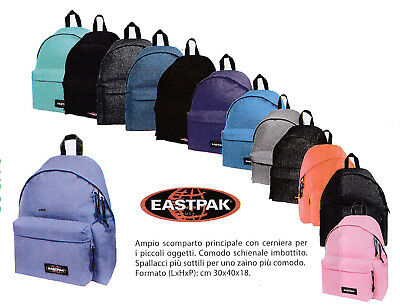 c9e6657613 ZAINO EASTPAK PADDED pak'r - EUR 50,00 | PicClick IT