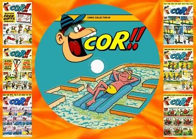 Cor!! Weekly Comics & Annuals On DVD Rom