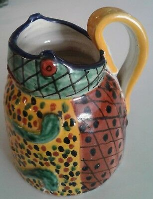 TALAVERA FROG PITCHER Mexico by Rea EXCELLENT