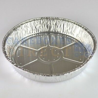 "6"" Round Aluminium Foil Dish Tart Disposable Baking Catering Containers Tray Pie"