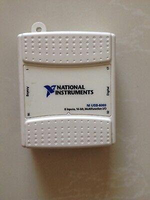 1pc National Instruments USB-6009 Data Acquisition Card NI DAQ, Multifunction