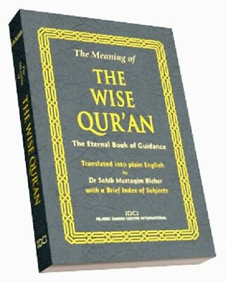 The Quran: The Meaning of the Wise Quran -Box of 10 Copies plus 10 Mp3 Quran cds