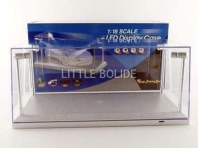T9-189922 1/18 Scale Led Display Case With 4 Adjustable Lights 35 X 15 X 16 Cm