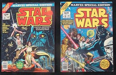 Marvel Treasury Special Edition STAR WARS #1-2 set Dave Cockrum Howard Chaykin