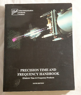 PRECISION TIME & FREQUENCY HANDBOOK,  EFRATOM rubidium oscillators CATALOGUE
