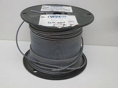 (350ft Roll) Stranded Type D Grey 16AWG #16 Conductor Hookup Wire 19/29 Strand