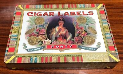 Cigar Labels Collectible Postcards Lot Of 39 Pre Owned / Incomplete (1997) L@@K