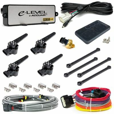 AccuAir E-Level Digital Leveling Air Suspension Control System w/ Gray Pad