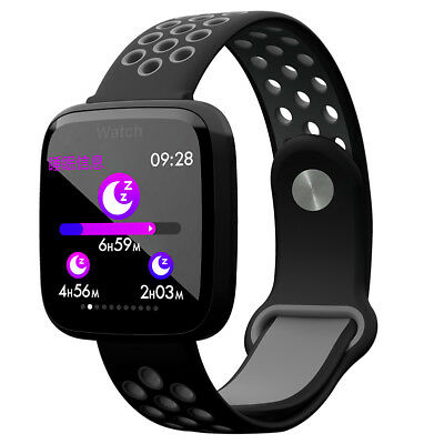 Waterproof Sport Smart Watch Blood Pressure Heart Rate Monitor for iOS Android H