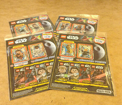 Lego Star Wars Trading Card Game Multi Pack Series 1 + Limited Edition Cards