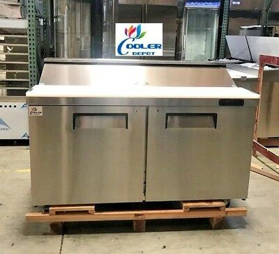 """NEW 60"""" Commercial Refrigerator Model TFP60 Sandwich Salad Pizza Prep Table NSF"""