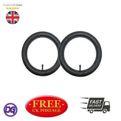 2 X INNER TUBE STRAIGHT VALVE PRAM BUGGY STOLLER FOR PHIL & TEDS,QUINNY BUZZ etc