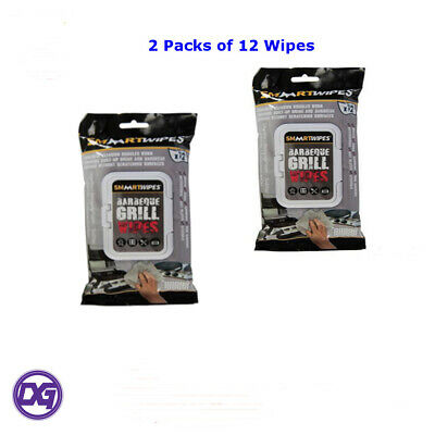 Barbecue Grill Cleaning Wipes - 12pk Environmentally Friendly