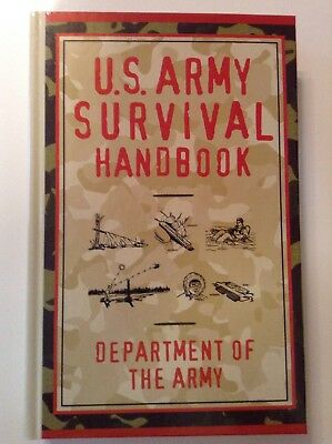 U.S.  Army Survival Handbook Department Of The Army Hard Cover