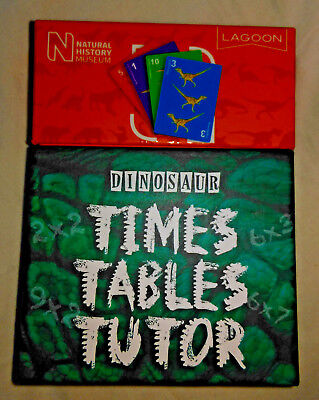 National History Museum's Dinosaur Times Tables Tutor Cards