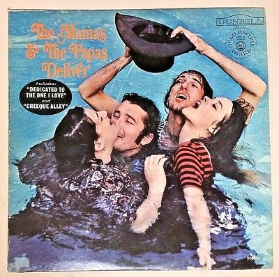 The Mamas & The Papas (1967 Dunhill Vinyl LP Cleaned Playtested D50014) Deliver
