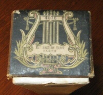 Ma Ragtime Queen Original Piano Roll 0918